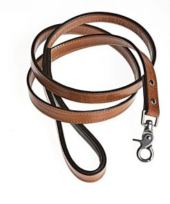 Bridle Tanned Bison & Elk Lead-Natural